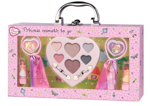 Printsessi meigikomplekt tüdrukutele kohvris