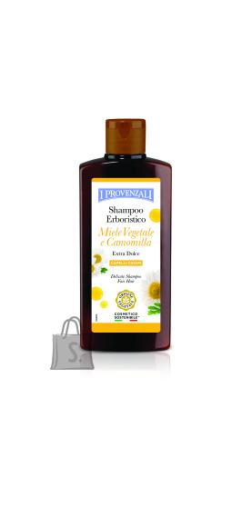 I Provenzali Õrn šampoon Kummeli ja Jakooni mahla ekstraktiga heledatele juustele 250ml