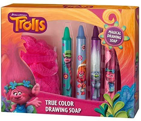 I Provenzali Trolls joonistavad vanniseebid komplekt