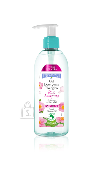 I Provenzali Bio Rosa Mosqueta orgaaniline puhastusgeel 150ml