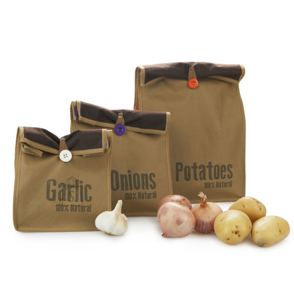 Balvi Köögiviljade säilitamise ja ladustamise kotid lukuga 3tk.