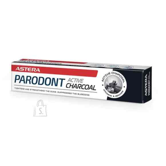 Astera Parodont aktiivse söega hambapasta 75 ml