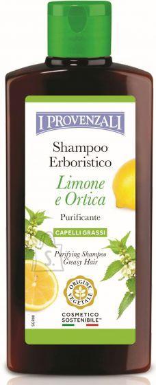I Provenzali Õrn sidruni- ja nõgese šampoon rasustele juustele 250ml
