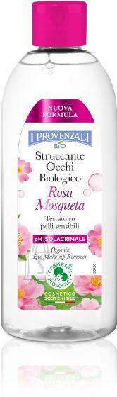 I Provenzali Bio Rosa Mosqueta orgaaniline silmameigieemaldaja hüaluroonhappega 150ml