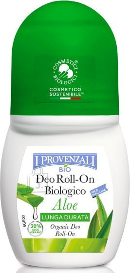 I Provenzali Bio I Provenzali Aaloe orgaaniline rulldeodorant 50ml