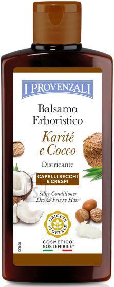 I Provenzali I Provenzali Sheavõi-Kookosõli siidne palsam kuivadele, habrastele ja tuhmidele juustle 200ml
