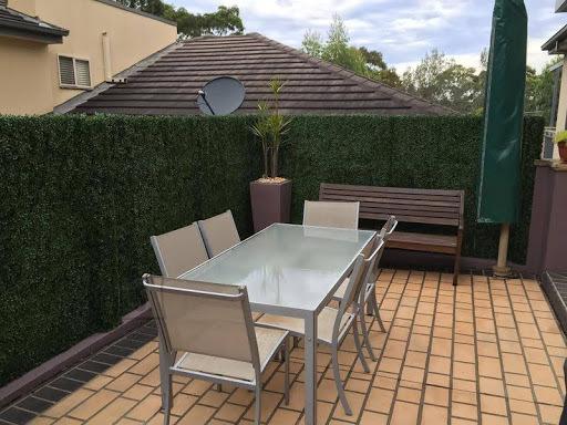 Kunsthekk rullaed (1 x 3 m) rõdu või aianurga privaatsuse loomiseks
