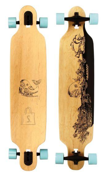 Nijdam pikamaasõidu rula 106 cm Wooden Warrior