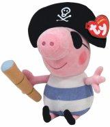 Peppa Pig mereröövel George/Põssa Priidik 23 cm