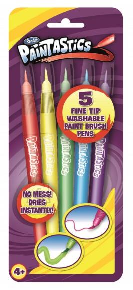 RenArt pintsel-viltpliiatsid Paintastics 5-värvi