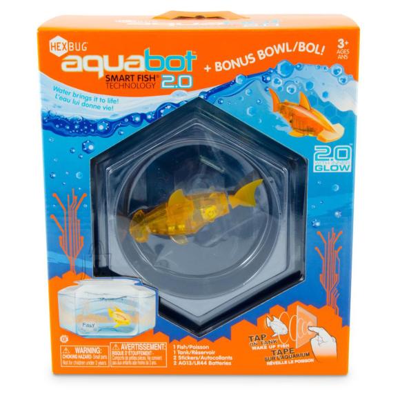 Hexbug Aquabot 2.0 akvaariumiga