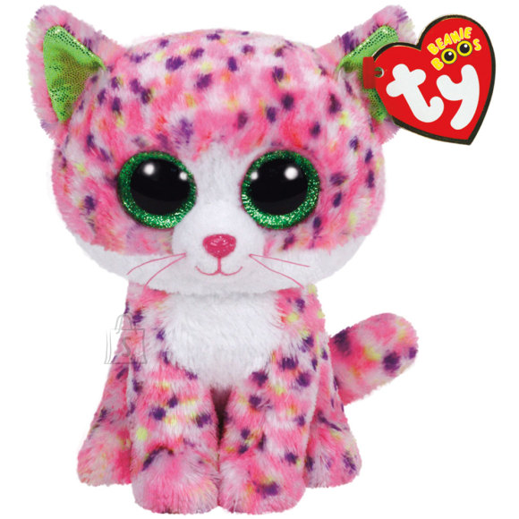 TY mänguloom roosa kass Sophie 23 cm