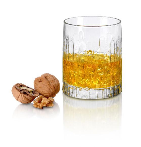 Borgonovo viskiklaasid Oak, 355 ml, 3 tk