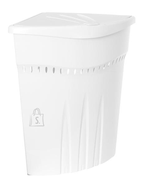 Plast Team Pesukorv, nurgaga, 45 L