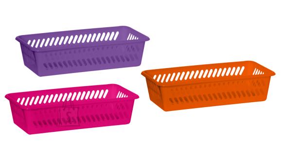 Plast Team plastikust hoiukorv, erinevad värvid