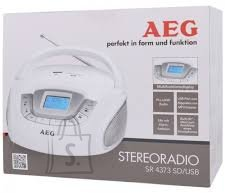 AEG stereoraadio, Mp3, SD/USB/AUX-in , punane