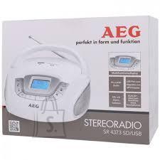AEG kaasaskantav raadio SD/USB/AUX sisenditega SR4373