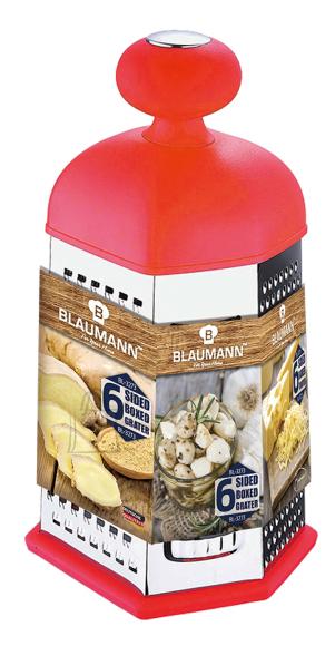 Blaumann 6-nurkne köögiriiv ergonoomilise käepidemega