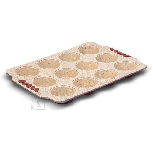 Nava keraamilise kattega vorm 12-le muffinile