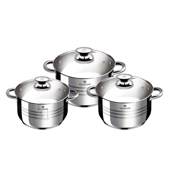 Blaumann *BLAUMANN Gourmet Line JUMBO pottide komplekt 6-osaline
