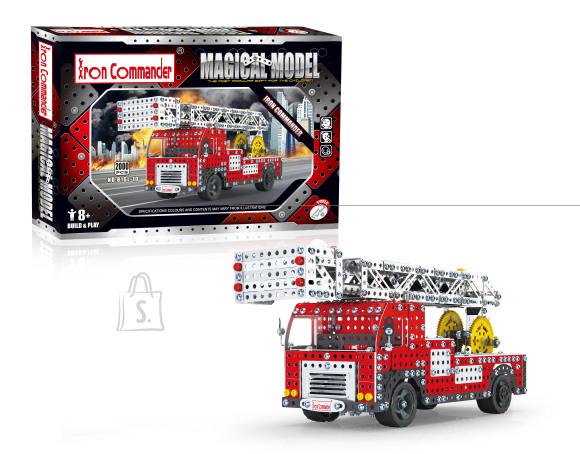 Konstruktor tuletõrjeauto korvtõstukiga