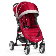Baby Jogger jalutuskäru City Mini 4Wheels Crimson/Gray