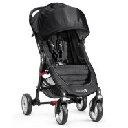 Baby Jogger jalutuskäru City Mini 4Wheels Black/Gray