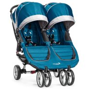 Baby Jogger jalutuskäru City Mini Double Teal/Gray