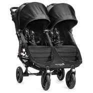 Baby Jogger jalutuskäru City Mini Double Black/Gray