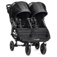 Baby Jogger jalutuskäru City Mini Double Black/Gray