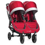 Baby Jogger jalutuskäru City Mini Double GT Crimson/Gray