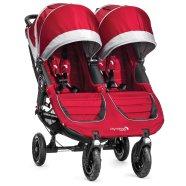 Baby Jogger jalutuskäru City Mini Double GT Crimson/Gray