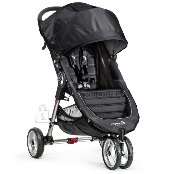 Baby Jogger jalutuskäru City Mini Black/Gray