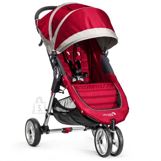 Baby Jogger jalutuskäru City Mini Crimson/Gray