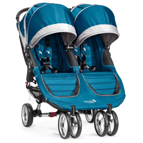 Baby Jogger jalutuskäru City Mini Double Teal/Gray