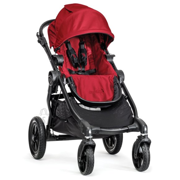 Baby Jogger jalutuskäru City Select (Black Frame) Red