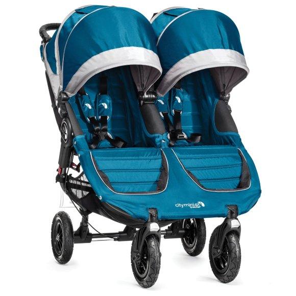 Baby Jogger jalutuskäru City Mini Double GT Teal/Gray