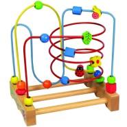 Gerardo's Toys puidust alusel motoorikakeskus