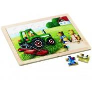 Gerardo's Toys pusle mõmmid ja traktor 35 tk
