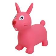 Gerardo's Toys Jumpy hüppeloom roosa jänku