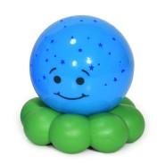 Cloud B sinine-roheline öölamp kaheksajalg