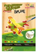 Gerardo's Toys 3D pusle Värviline lennuk