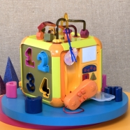 B Toys Tegevuskuubik