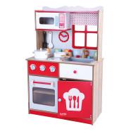 Gerardo's Toys Puidust köök Scarlet