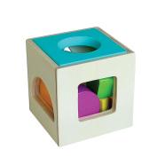 Gerardo's Toys Puidust sorteerimiskuubik