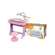 Süntesaator tool+mikrofon roosa