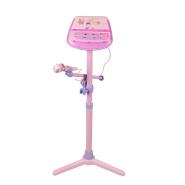 Mikrofon jalaga roosa
