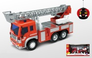 Puldiga tuletõrjeauto heli- ja valgusefektidega