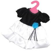 Nuku kleit must/valge