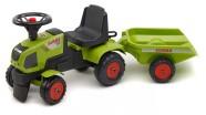Falk Traktor Claas Axos käruga